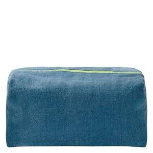 NWT Designers Guild Brera Lino Medium Make Up Bag